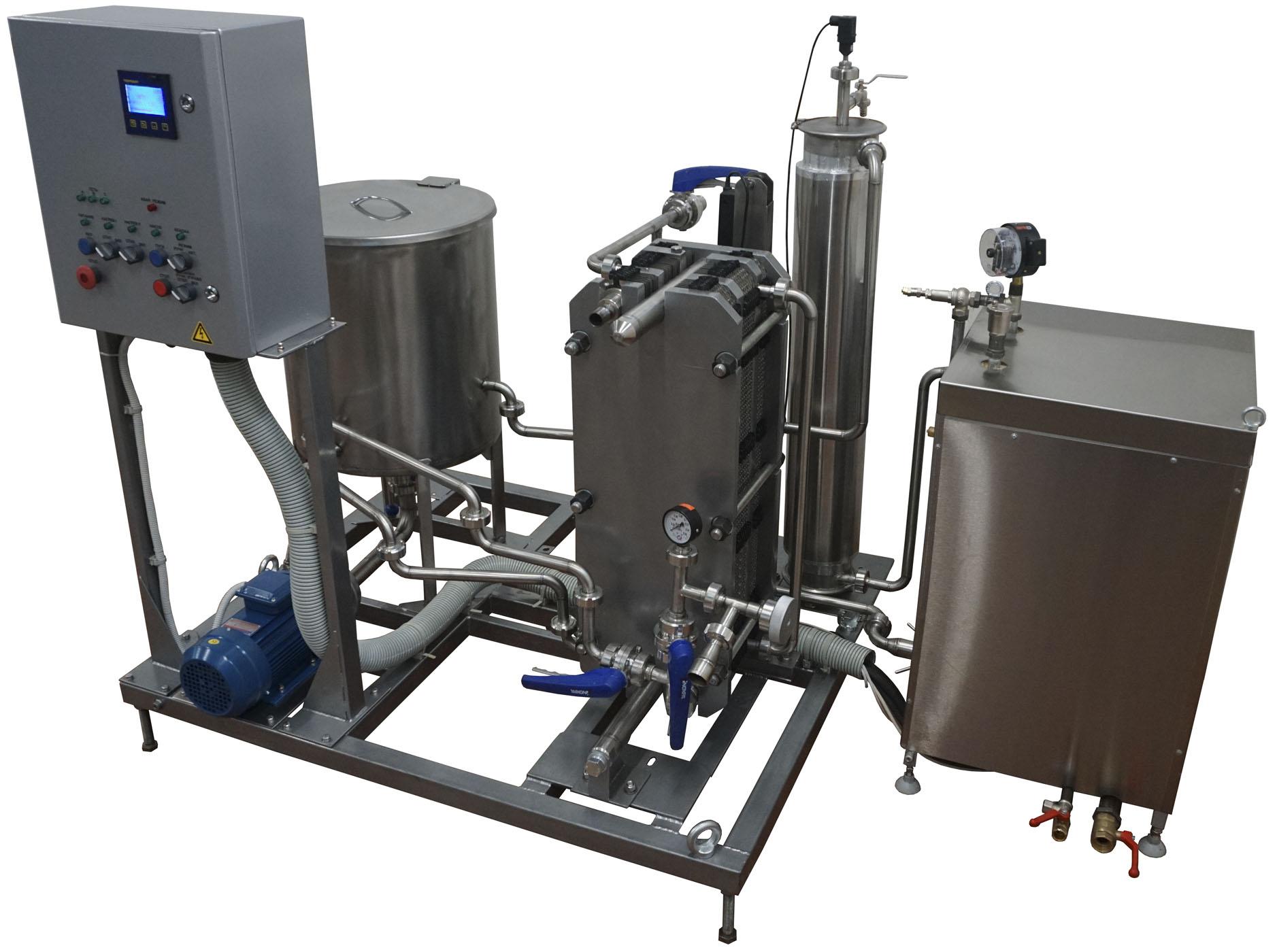 Оборудование для пастерелизации молока