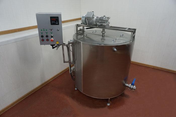 Ванна длительной пастеризации ВДП на 350 литров с рамной мешалкой