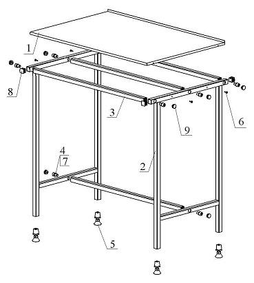 Стол рабочий обвалочный ИПКС-075-1,4ОБ(Н) .